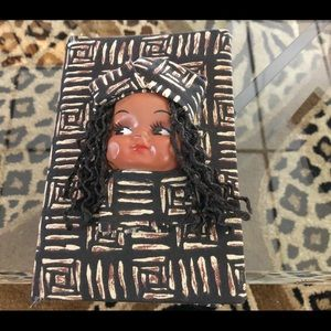 Vintage Afro centric table notebook